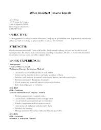 Cna Objective Resume Examples Resume Template For Examples Of
