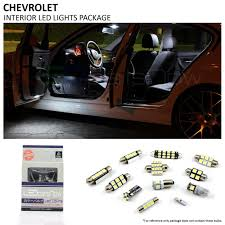 2012 Camaro Dome Light Bulb Size Chevy Camaro Led Interior Lights Package 2010 2015