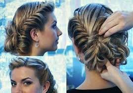 Curly Hair Style Up updo hairstyles long curly hair easy fancy looking curly half up 2911 by wearticles.com