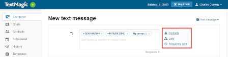 A very useful app to help you send mass sms in one time! Send Text Messages In Bulk Textmagic