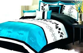 turquoise and white bedding teal and white bedding turquoise image inspirations grey teen glass bed brown turquoise and white bedding grey