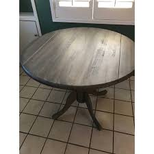 international concepts unfinished round 36 inch dual drop leaf dining table today overstock 9330875