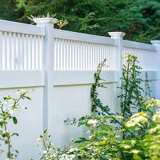 illusions fence matte finish white vinyl by looks like painted wood dealers f35