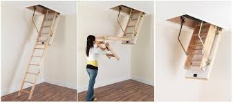 Simple And Neat Home Interior Design With Various Loft Ladder Ideas : Hot  Picture Of Furniture