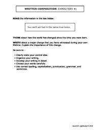 8th Grade Essay Prompts 8th Grade Essay Writing Samples Essayist Provider