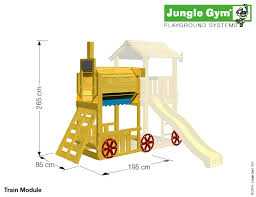 jungle gym train module