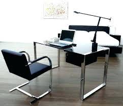 home office glass desks. Desk Glass Cover Office Small Black Home . Desks