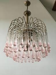 murano glass drops chandelier by paolo venini for venini 1960s 1
