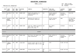 Supervisor Meeting 01/03/11 (Shooting Schedule #1)   Mechanical Sympathy
