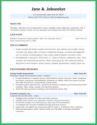 Entry Level Nursing Resume Examples
