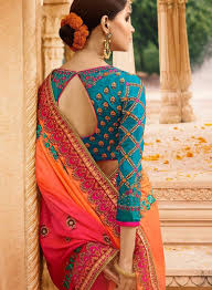 Stunning Designer Sarees Stunning Designing Saree Blouses Read Information On