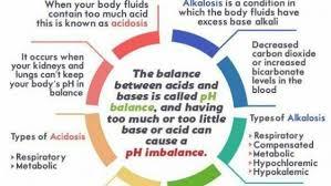 Arterial Blood Gas Analysis Ph Balance Chart Medical