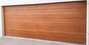 steel line roller decro finish on sectional door