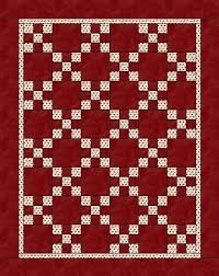 Nine Patch Inspiration - Quilting Tutorial from ConnectingThreads.com & Red Romance Adamdwight.com