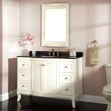 single white bathroom vanities. Luxuriant Single Bathroom Vanity Cabinets Ideas Free Standing White Vanities In Type With Drawers Made Of Wood And Black Top E