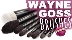 wayne goss makeup brushes erste eindrücke vergleich magimania pinselreihe am sonn you