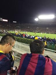 Rose Bowl Section 6 L Row 2 Seat 3 La Galaxy Vs Fc