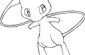 Coloring Pages Pokemon Attractive Ideas Coloring Pages Mew All