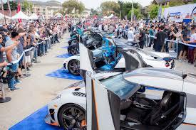 koenigsegg events at monterey car week