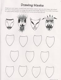 a63d590b3d49418b5a4ba050731ca99a ande cook's drawing masks worksheet and art education substitute on force and motion worksheets