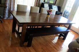 Metal And Wood Kitchen Table Design974865 Wood Dining Table With Bench And Chairs Reclaimed