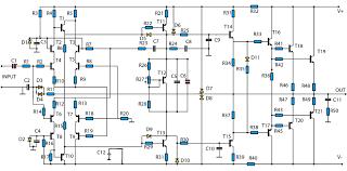 1400w high power audio amp schematic electronics 1400w high power audio amp schematic