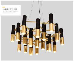 living room chandelier simple postmodern chandelier villa restaurant bedroom 008