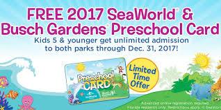 busch gardens tickets. photo 1 of 4 busch gardens tampa seaworld orlando preschool pass free admission (exceptional tickets florida