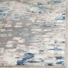mesmerizing gray and blue area rug classof co