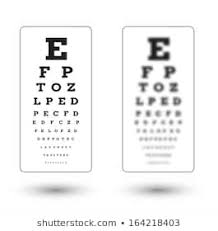 Lying Eye Chart 1000 Eye Test Chart Stock Images Photos Vectors
