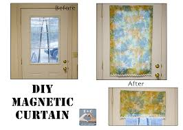 diy magnetic curtain 1