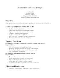 Banquet Server Cover Letter Sample Banquet Server Job Description