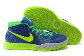 Blue Green Online Nike Kyrie Irving 1 Blue Green Basketball Shoes Cheap For Sale