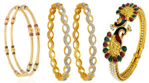 Latest South Indian Bangles Design 25 Latest Designs Of Gold Bangles In India Styles At Life