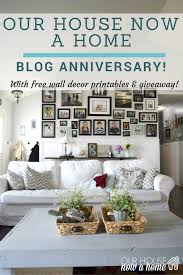 Small Picture Blog anniversary and giveaway Our House Now a Home