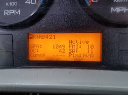 Warn Engine Light International 4700 2012 International 4300 Dt466 Maxforce