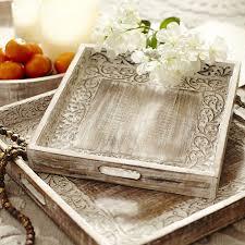 Decorative Metal Tray Trays Decorative Serving Trays Pier 1 Imports