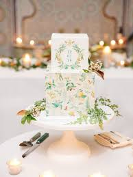Wedding Cake Modern Designs 8 Square Wedding Cakes Perfect For A Modern Couple