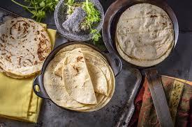 white corn tortilla