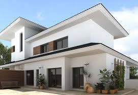 exterior white paintDecoration Modern Colors To Paint A House Exterior In White And