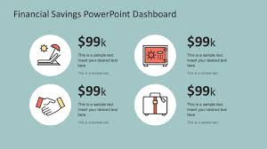 Powerpoint Financial Financial Savings Powerpoint Infographics