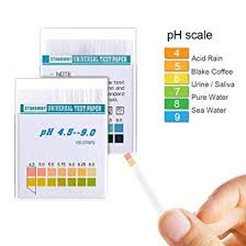 Color Chart Urine Test Strips 100ct Ph Test Strips Measure Litmus Strips Tester Ph Scale 4 5 9 And Color Chart