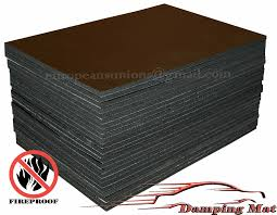 24-SHEETS Car Sound Proofing Deadening Insulation Pads Absorber ...
