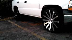 TAHOE on 26 inch rims - YouTube
