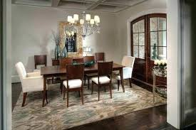 should you put a rug under a dining room table area rug dining room dining room