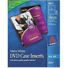Avery Labels Dvd Avery Laser Cd Labels Matte White 50 Pack Walmart Com