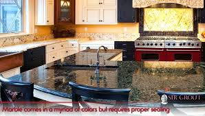 marble comes in a myriad of colors but requires proper sealing how to seal countertops cleaning