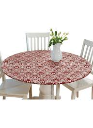 damask fitted tablecloth