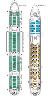 Etihad Flight Seating Chart Coral Economy A380 Etihad Airways Seat Maps Reviews