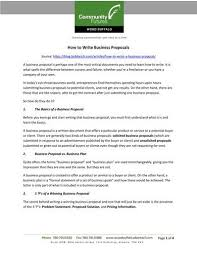 Professional Business Proposals Free 10 Professional Business Proposal Templates In Pdf Word